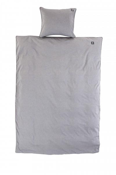 Grand Design Bettwäsche Set Grau aus 100% Baumwolle