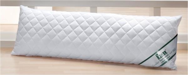 Seitenschläferkissen aus 75 % Baumwolle und 25% Polyester