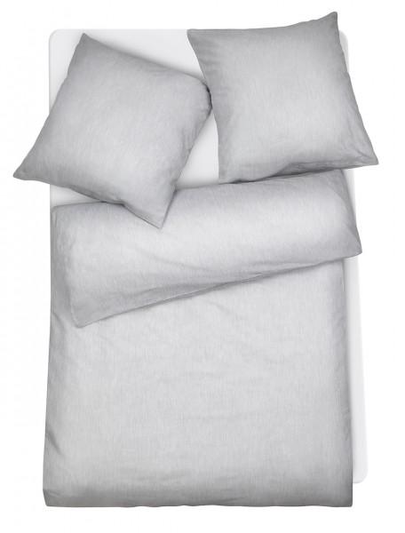 Mako Brokat Damast Bettwäsche Melange aus 100% Baumwolle