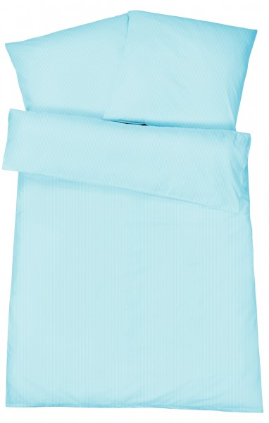 Damast Bettwäsche Feinstreifen aus 100% Baumwolle