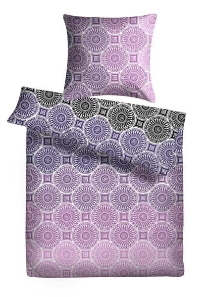 Biber Bettwäsche Ornamente aus 100% Baumwolle