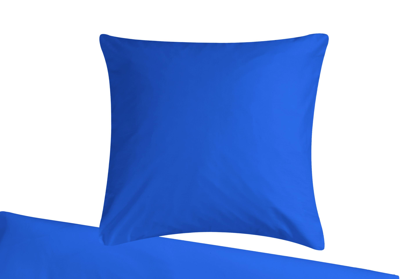 Mako Satin Bettwäsche Aus 100 Baumwolle In Dunkel Blau