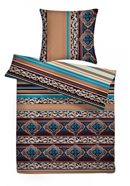 Biber Bettwäsche Orient Muster aus 100% Baumwolle