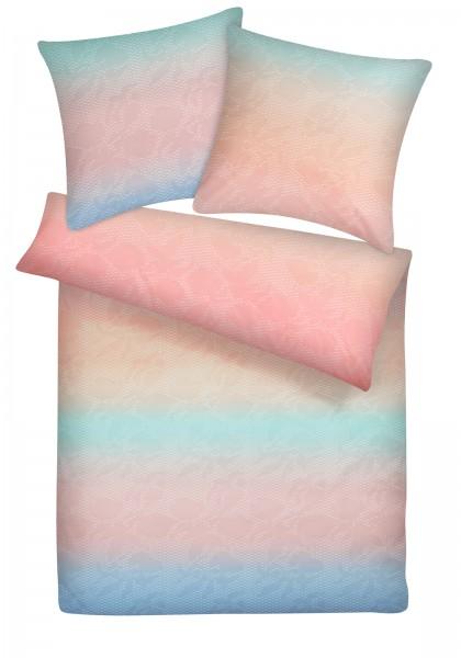 Biber Bettwäsche Regenbogen aus 100% Baumwolle