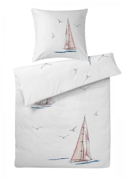 Interlock Jersey Bettwäsche Segelboot aus 100% Baumwolle