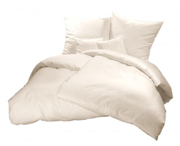 Biber Bettwäsche Natur aus 100% Baumwolle